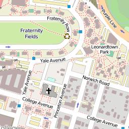 TerpNav Pedestrian Map System